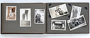 family photo album ca 1930s through 1950s France