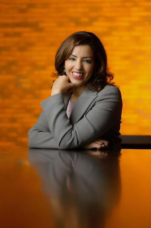 Maha al Ghunaim, Vice Chairman and Managing Director of Global Investment House, Kuwait..For Forbes Arabia by Siddharth Siva