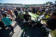 October 1, 2016: IMSA Petit Le Mans, #16 Corey Lewis, Change Racing, Lamborghini Huracán GT3
