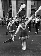 St Patrick's Day Parade.1982.17/03/1982.03.17.1982.American high school bands feature strongly in this years parade
