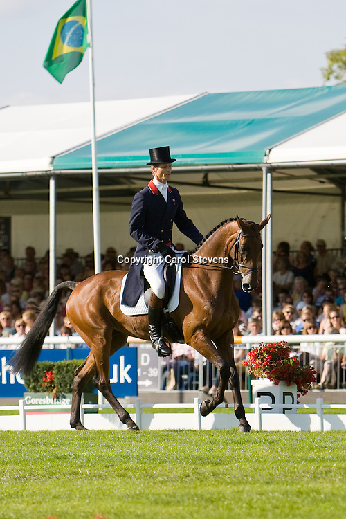 Land Rover Burghley Horse Trials 2010  Dressage Day 2