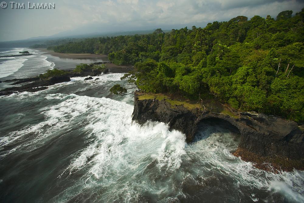 South coast of Bioko Island, Equatorial Guinea, West Africa..