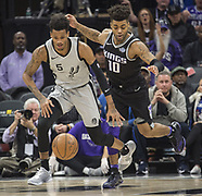 San Antonio Spurs v Sacramento Kings - 23 December 2017