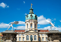 Schloss Charlottenburg in Berlin Germany