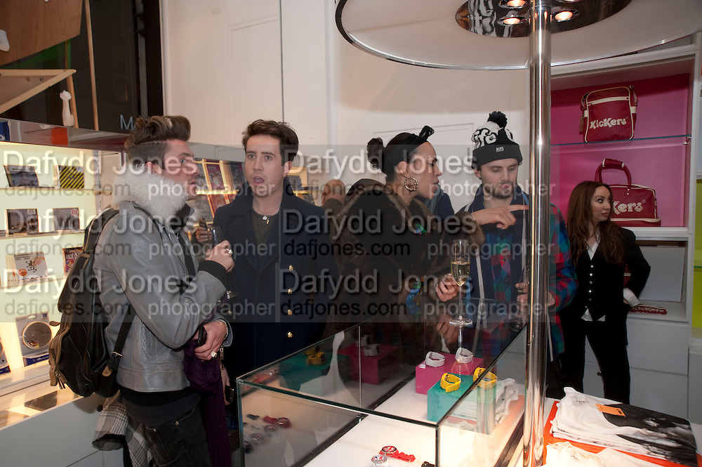 HENRY HOLLAND; NICK GRIMSHAW; DEBBIE REECE BLOCK, The Nineties are Vintage. Concept Store, Rellik and Workit. The Wonder Room. Selfridges. Oxford St. London. 7 January 2010.