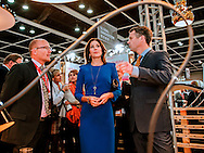 "Hong Kong, 2012-6-12: CROWN PRINCESS MARY AND CROWN PRINCE FREDERIK OF DENMARK.attend the official Opening of Business of Design Week at Hong Kong Convention and Exhibition Center. .Mandatory Credit Photo: ©NEWSPIX INTERNATIONAL..**ALL FEES PAYABLE TO: ""NEWSPIX INTERNATIONAL""**..IMMEDIATE CONFIRMATION OF USAGE REQUIRED:.Newspix International, 31 Chinnery Hill, Bishop's Stortford, ENGLAND CM23 3PS.Tel:+441279 324672  ; Fax: +441279656877.Mobile:  07775681153.e-mail: info@newspixinternational.co.uk"