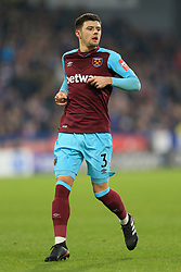 13th January 2018 - Premier League - Huddersfield Town v West Ham United - Aaron Cresswell of West Ham - Photo: Simon Stacpoole / Offside.