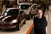 Belo Horizonte_MG, Brasil...Retrato de Sergio Marchionne, CEO mundial da FIAT...The Sergio Marchionne portrait, He is the CEO of FIAT...Foto: LEO DRUMOND / NITRO