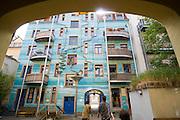 Dresden Neustadt, Kunsthof Passage, Dresden, Sachsen, Deutschland.|.Dresden, Germany,  Dresden Neustadt, Kunsthof passage