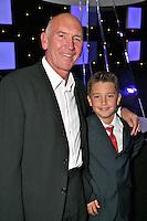 Bill Curbishley and his son