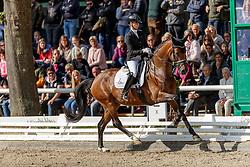 MÖLLER Eva (GER), Espe 45<br /> Warendorf - Bundeschampionate 2019<br /> Dressurpferdeprüfung Kl. L<br /> Finale 5jährige<br /> 08. September 2019<br /> © www.sportfotos-lafrentz.de/Stefan Lafrentz