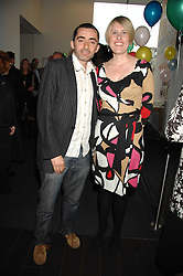DAVID FARR artistic director at the Lyric and JESSICA HEPBURN Executive Director at the Lyric at a pre show reception to celebrate the 50th anniversary of the play 'The Birthday Party' held at the Lyric Theatre, Kings Street, Hammersmith, London on 19th May 2008.<br /><br />NON EXCLUSIVE - WORLD RIGHTS