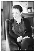 Portrait of Dani Klein from Vaya Con Dios taken during her official interview at Jazzablanca festival in Casablanca in 2013