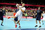 DESCRIZIONE : France Handball Jeux Olympiques Londres <br /> GIOCATORE : Fernandez Jerome FRA<br /> SQUADRA : France Homme<br /> EVENTO : FRANCE Handball Jeux Olympiques<br /> GARA : FRANCE ARGENTINE<br /> DATA : 31 07 2012<br /> CATEGORIA : handball Jeux Olympiques<br /> SPORT : HANDBALL<br /> AUTORE : JF Molliere <br /> Galleria : France JEUX OLYMPIQUES 2012 Action<br /> Fotonotizia : France Handball Homme Jeux Olympiques Londres premier tour <br /> Predefinita :