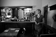 Mabel Wiegant madeThe Old Hack Pub in Brussels an institution for journalists, lobbyists, EU officials and commissioners. Here the last inspection before she opens for lunch. Photo: Erik Luntang