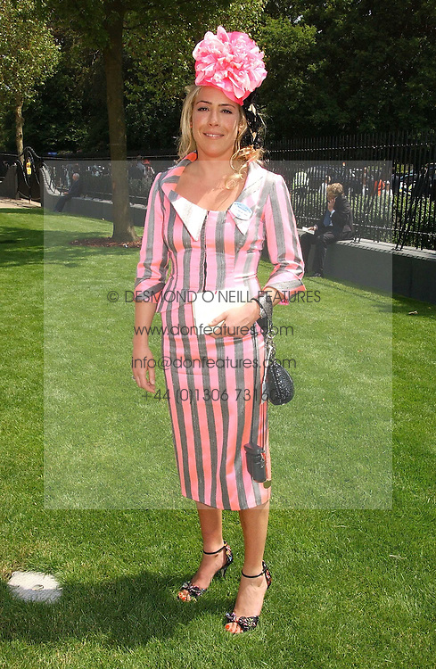 COZMO JENKS at the first day of the Royal Ascot racing festival 2006 at Ascot Racecourse, Berkshire on 20th June 2006.<br /><br />NON EXCLUSIVE - WORLD RIGHTS
