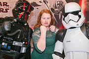 2017-12-11. Cinemec Utrecht. Nederlandse premiere van Star Wars - the Last Jedi. Op de foto: Eva van der Gucht