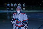 KELOWNA, CANADA - NOVEMBER 25:  Pepsi Player of the game at the Kelowna Rockets game on November 25, 2017 at Prospera Place in Kelowna, British Columbia, Canada.  (Photo By Cindy Rogers/Nyasa Photography,  *** Local Caption ***