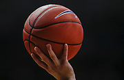 WEST LAFAYETTE, IN - FEBRUARY 27: An official holds a basketball in the air during a timeout during the Purdue Boilermakers and Illinois Fighting Illini game at Mackey Arena on February 27, 2019 in West Lafayette, Indiana. (Photo by Michael Hickey/Getty Images)