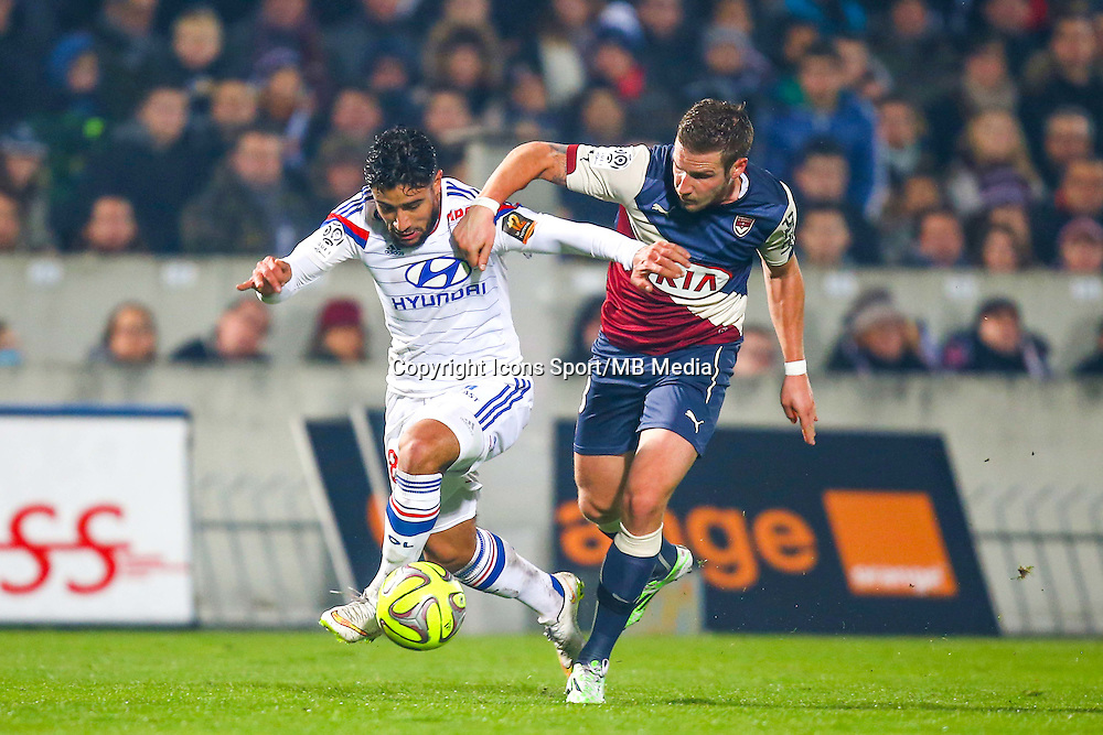 Nabil Fekir  - 21.12.2014 - Bordeaux / Lyon - 19eme journee de Ligue 1 -<br /> Photo : Manuel Blondeau / Icon Sport