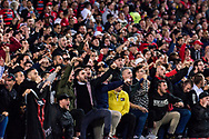 July 15 2017: Western Sydney Wanderers crowd at the International soccer match between English Premier League giants Arsenal and A-League team Western Sydney Wanderers at ANZ Stadium in Sydney.