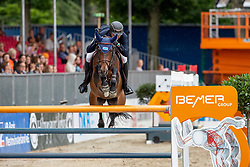 WILL David (GER), FOREST GUMP 29<br /> Münster - Turnier der Sieger 2019<br /> BRINKHOFF'S NO. 1 -  Preis<br /> CSI4* - Int. Jumping competition  (1.50 m) -<br /> 1. Qualifikation Grosse Tour <br /> Large Tour<br /> 02. August 2019<br /> © www.sportfotos-lafrentz.de/Stefan Lafrentz