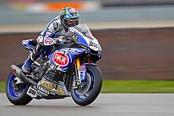 16.04.2016, TT Circuit, Assen, NED, MOTUL FIM Superbike World Championship, Assen, im Bild #22 Alex Lowes ( GBR ) Yamaha // during the MOTUL FIM Superbike World Championship at the TT Circuit in Assen, Netherlands on 2016/04/16. EXPA Pictures © 2016, PhotoCredit: EXPA/ Eibner-Pressefoto/ FSA<br /> <br /> *****ATTENTION - OUT of GER*****