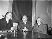 1958 -  Taoiseach, Mr Eamon de Valera receives Professor Christopherson