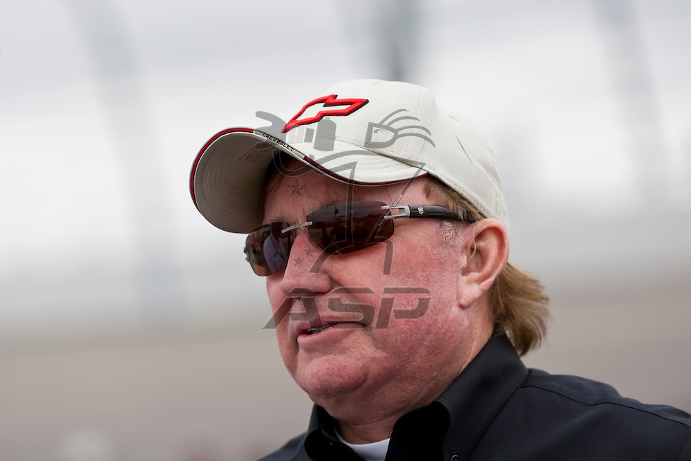 NEWTON, IA - MAY 20, 2012:  Car owner, Richard Childress, before the Pioneer Hi-Bred 250 at the Iowa Speedway in Newton, IA.