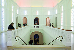 Interior of Stedelijk Museum of contemporary art in Amsterdam The Netherlands