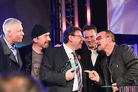 Lucian Grainge and U2