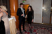 JAMES DAY; FRANCES RUFFELLE, 56th London Evening Standard Theatre Awards. Savoy Hotel. London. 28 November 2010.  -DO NOT ARCHIVE-© Copyright Photograph by Dafydd Jones. 248 Clapham Rd. London SW9 0PZ. Tel 0207 820 0771. www.dafjones.com.