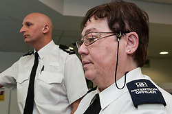 Custody Dentention Officer and desk sergeant at Middlesborough police station