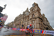 Time Trial Men 45,7 km, Alex Dowsett (Great Britain) during the Road Cycling European Championships Glasgow 2018, in Glasgow City Centre and metropolitan areas Great Britain, Day 7, on August 8, 2018 - photo Luca Bettini / BettiniPhoto / ProSportsImages / DPPI<br /> - restriction - Netherlands out, Belgium out, Spain out, Italy out