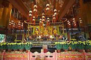Lantau island. Ngong Ping Plateau. Po Lin Monastery.