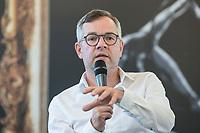 24 JUN 2019, BERLIN/GERMANY:<br /> Michael Roth, MdB, Staatsminister für Europa im Auswärtigen Amt, Wirtschaftsforum der SPD, Arbeitssitzung des Fachforums Europa und Außenwirtschaft, Hauptstadtrepräsentanz von Telefónica<br /> IMAGE: 20190724-01-056
