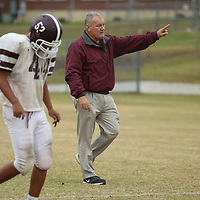Biggersville head coach Stan Platt has guided his team to its first playoff game in nearly 20 years.