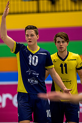 03-02-2018 NED: Talent Team - Inter Rijswijk, Arnhem<br /> Talent Team wint vrij eenvoudig met 3-0 van Rijswijk / /ri10/, Timo Gras #11 of Rijswijk