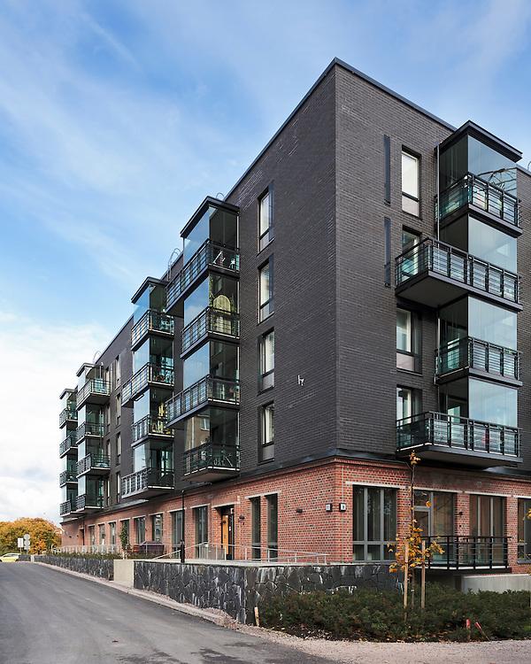 Asunto Oy Helsingin Tervapääskynen in Finland designed by Helamaa and Pulkkinen architects.