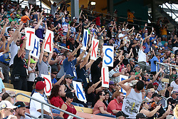 November 12, 2017 - Avondale, Arizona, United States of America - November 12, 2017 - Avondale, Arizona, USA: Fans send their thanks to Dale Earnhardt Jr. (88) before the Can-Am 500(k) at Phoenix Raceway in Avondale, Arizona. (Credit Image: © Walter G Arce Sr Asp Inc/ASP via ZUMA Wire)