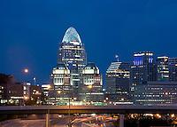 Cincinnati's Great American Tower and P&G Building