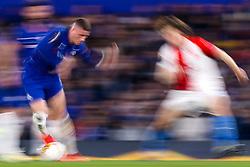 Ross Barkley of Chelsea takes on Alex Kral of Slavia Prague - Mandatory by-line: Robbie Stephenson/JMP - 18/04/2019 - FOOTBALL - Stamford Bridge - London, England - Chelsea v Slavia Prague - UEFA Europa League Quarter Final 2nd Leg
