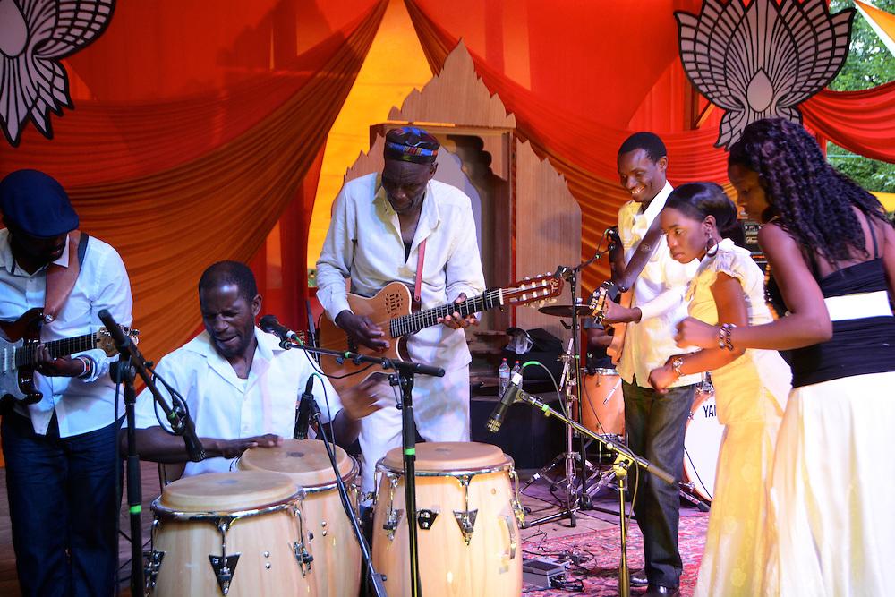 Oliver Mtukuzuki & the Black Spirits from Beloved Sacred Arts Festival 2013