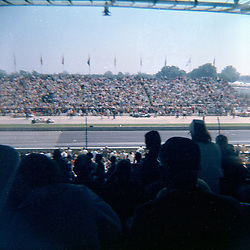 Indianapolis Speedway Time Trials - May 1968<br /> <br /> This image was scanned from a slide, print or transparency.  Image quality may vary.  Dust and other unwanted artifacts may exist.