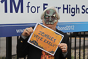 Vote Early Zombie at Furr HS