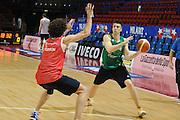 MILANO 12 MARZO 2011<br /> BASKET ALL STAR GAME<br /> ALLENAMENTO NAZIONALE ITALIANA<br /> NELLA FOTO VIGGIANO<br /> FOTO CIAMILLO CASTORIA