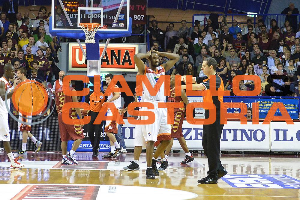 DESCRIZIONE : Venezia Lega A 2012-13 EA7 Umana Venezia Acea Roma<br /> GIOCATORE : gani lawal <br /> CATEGORIA : delusione<br /> SQUADRA : Umana Venezia Acea Roma<br /> EVENTO : Campionato Lega A 2012-2013 <br /> GARA : Umana Venezia Acea Roma<br /> DATA : 18/11/2012<br /> SPORT : Pallacanestro <br /> AUTORE : Agenzia Ciamillo-Castoria/M.Gregolin<br /> Galleria : Lega Basket A 2012-2013  <br /> Fotonotizia : Venezia Lega A 2012-13 Umana Venezia Acea Roma<br /> Predefinita :