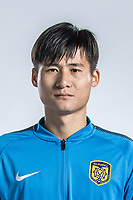 **EXCLUSIVE**Portrait of Chinese soccer player Zhou Yun of Jiangsu Suning F.C. for the 2018 Chinese Football Association Super League, in Nanjing city, east China's Jiangsu province, 23 February 2018.