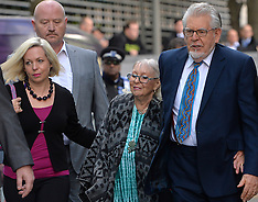 MAY 06 2014 Rolf Harris arrives at Court