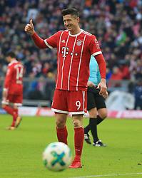 20180121, 1.BL, FC Bayern vs Werder Bremen, Allianz Arena Muenchen, Fussball, Sport, im Bild:..Robert Lewandowski (FCB)...*Copyright by:  Philippe Ruiz..Postbank Muenchen.IBAN: DE91 7001 0080 0622 5428 08..Oberbrunner Strasse 2.81475 MŸnchen, .Tel: 089 745 82 22, .Mobil: 0177 29 39 408..( MAIL:  philippe_ruiz@gmx.de ) ..Homepage: www.sportpressefoto-ruiz.de. (Credit Image: © Philippe Ruiz/Xinhua via ZUMA Wire)
